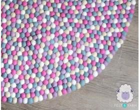 Pinkish Multicolor Felt...