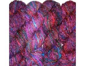 Recycled Silk Yarn multi color