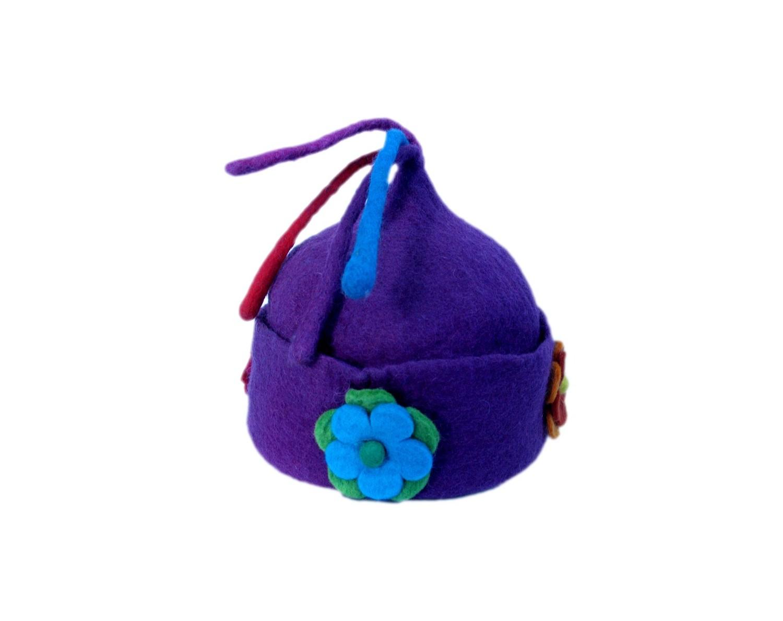 Felt flower Hat