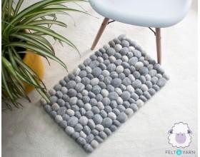 Gray Pebble Rug