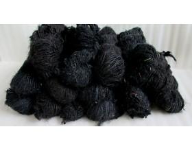 Black Silk Yarn